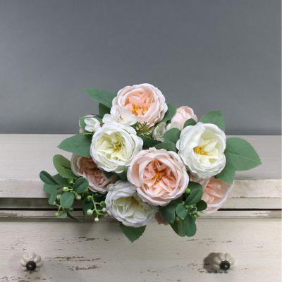 Tintagel Vintage English Rose Bush Cream Blush (12/96)