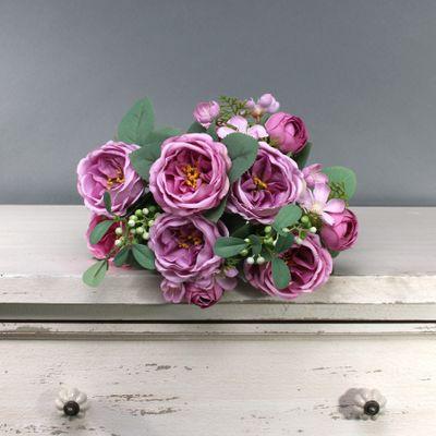 Tintagel Vintage English Rose Bush Purple (12/96)