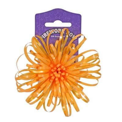 Orange Firework Bow (12cm)