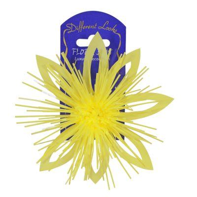 Yellow Flora Bow (12cm)