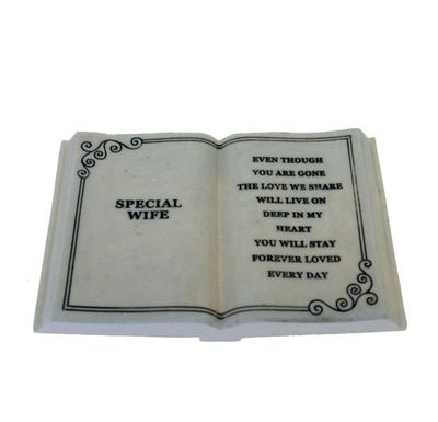 Large Special Wife Memorial Plaque