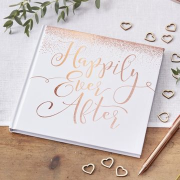 Rose Gold GuestBook