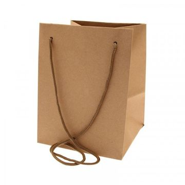 Natural Hand Tie Bag