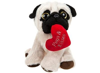 Pugs & Kisses Plush Dog