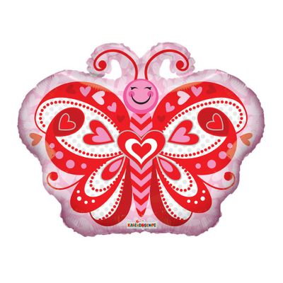 Butterfly Hearts Balloon (18 inch)