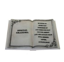 Large Special Grandma Memorial Plaque