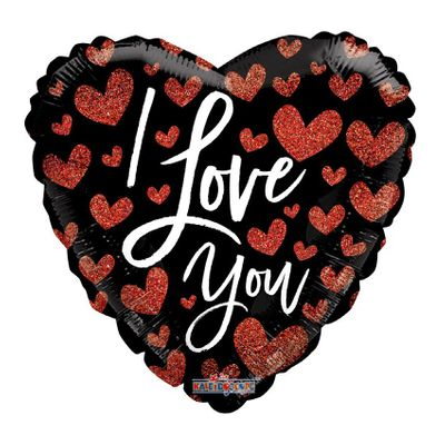 I Love You Hearts Balloon (18 inch)