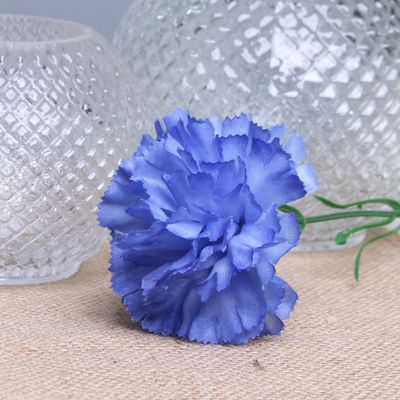 Royal Blue per Dozen Carnation
