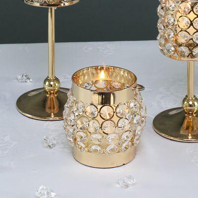 Gold Crystal Globe Lantern