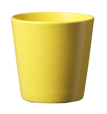 Dallas Matte Sunny Yellow Pot
