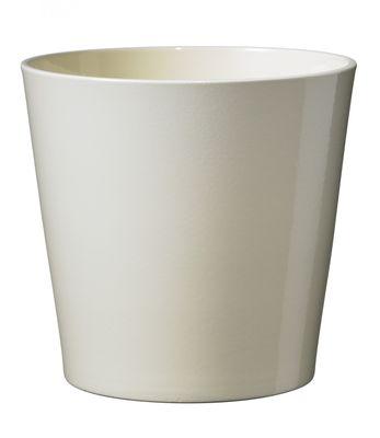 Shiny Vanilla Dallas Pot 24cm