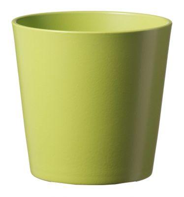 15cm Matt Banana Green Dallas Pot
