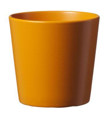 15cm Matt Orange Dallas Pot