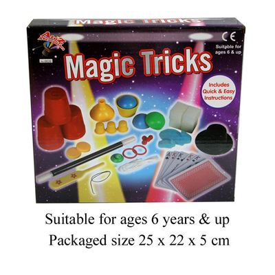 T19116 Magic tricks with easy and quick to learn instructions