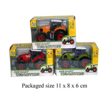 T19307 Die Cast Tractor Available In 3 Colours
