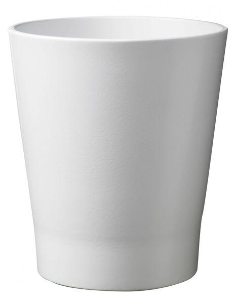 Merina Candy Ceramic Pot Shiny White