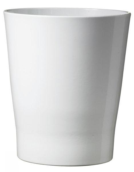 12cm Merina Ceramic Pot Shiny White