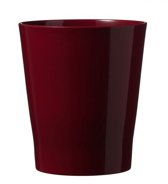 Merina Ceramic Pot Shiny Bordeaux