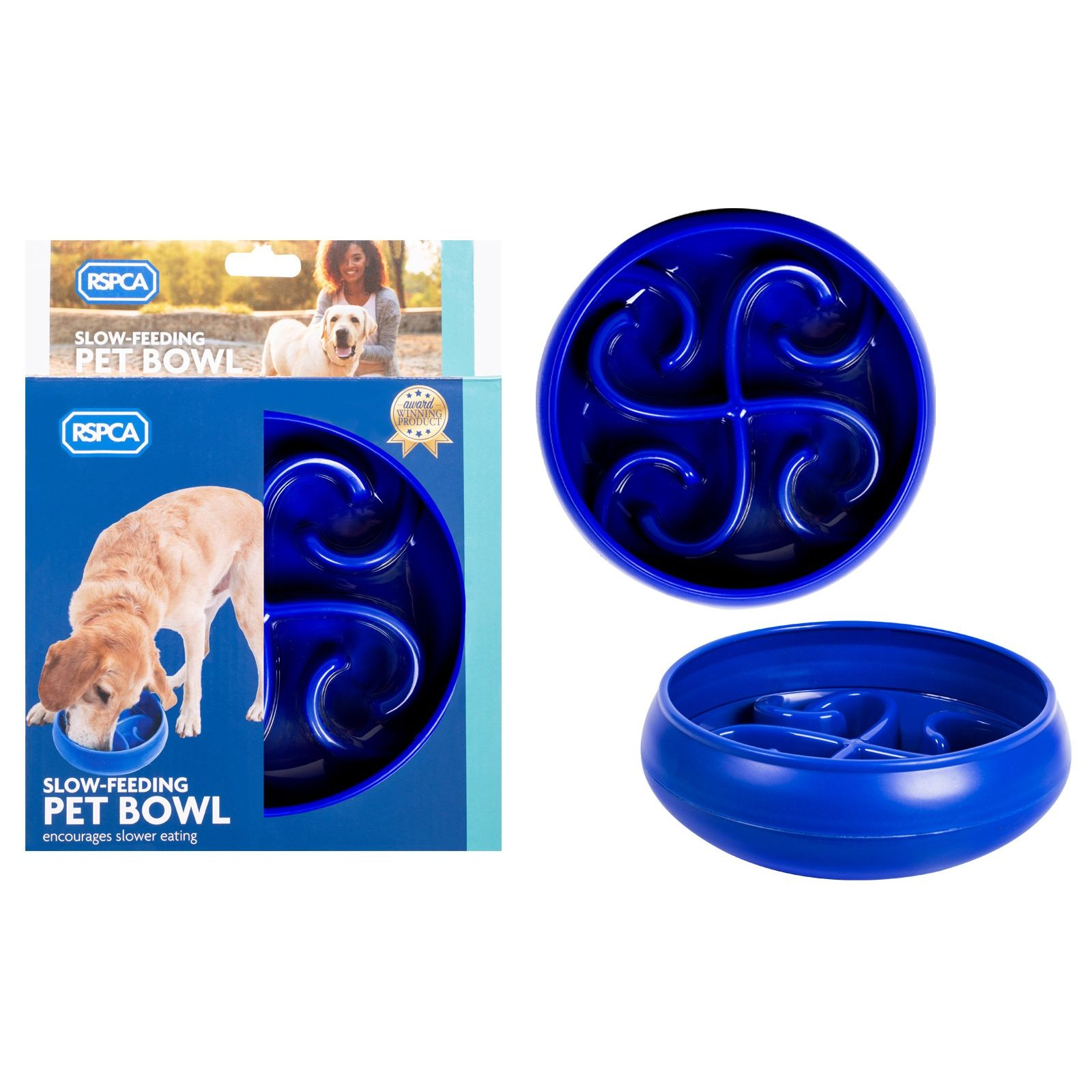 Dog Slow Feeder Bowl