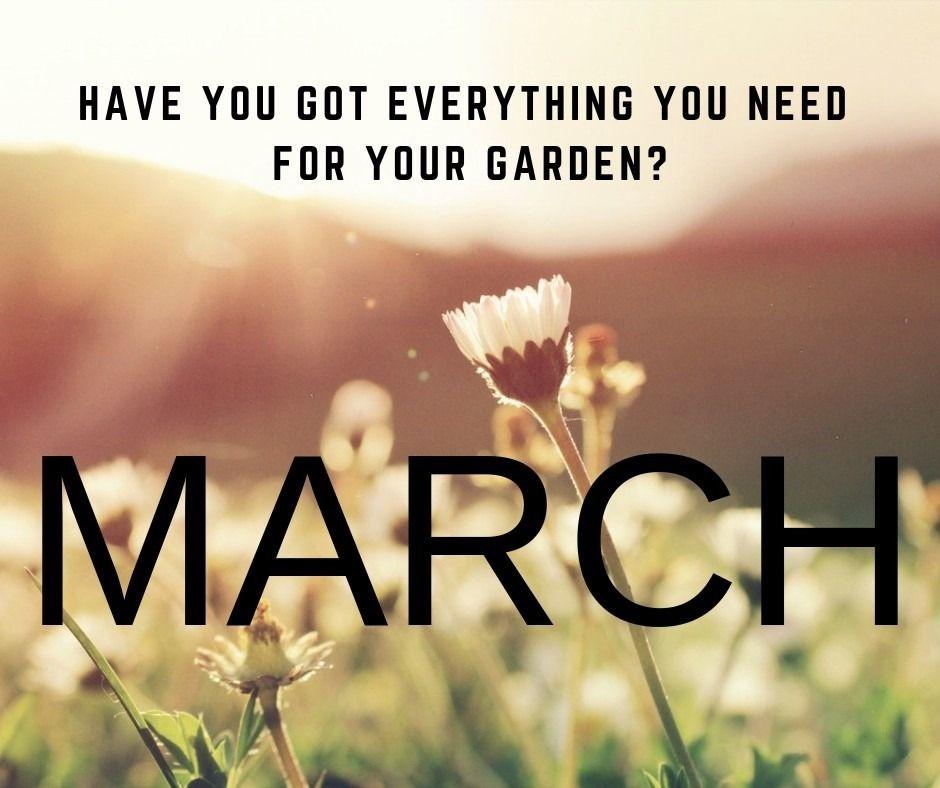 March Garden Must Haves
