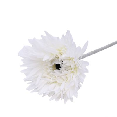 62CM Single Gerbera White
