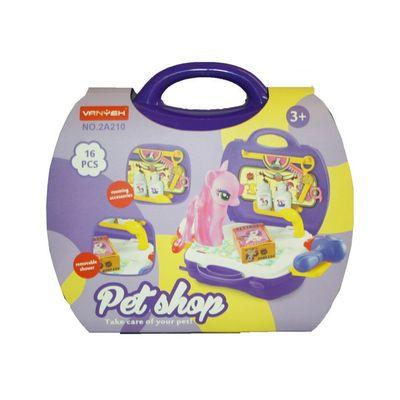 T19576 Unicorn Pet Shop In Case