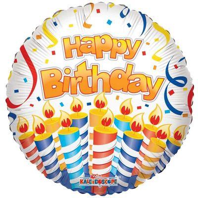 "18"" Happy Birthday Candles sv"