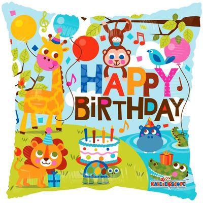"18"" Birthday Jungle"