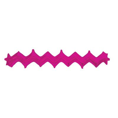 Magenta Zig Zag Wall with Valve (pack of 5)