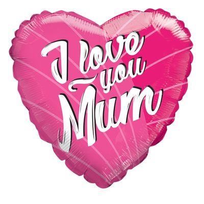 "18"" I Love Mum Balloons"