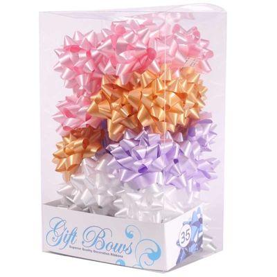 Pale Pink / White / Lilac / Gold / Silver Galaxy Bows (x35)