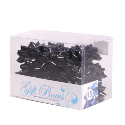 Shiny Black Galaxy Bows (x15)