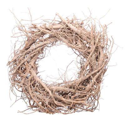 30cm Round Twig Wreath  (20)