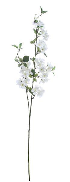 Luxury Cherry Blossom Spray White (127cm)