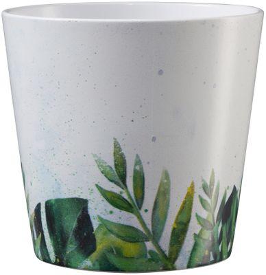Dallas Botanic 14cm ceramic pot - leaves tendril