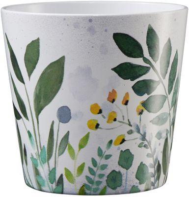 Dallas Botanic 14cm ceramic pot - meadow green