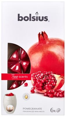 Fragrance wax melTrue Scents pck6  True Scents - Pomegranate