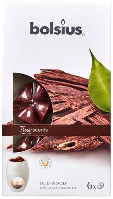 Fragrance wax melTrue Scents pck6  True Scents - Oud Wood