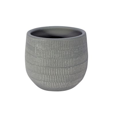 Amalfi Pot Light Grey (14cm x 12cm)