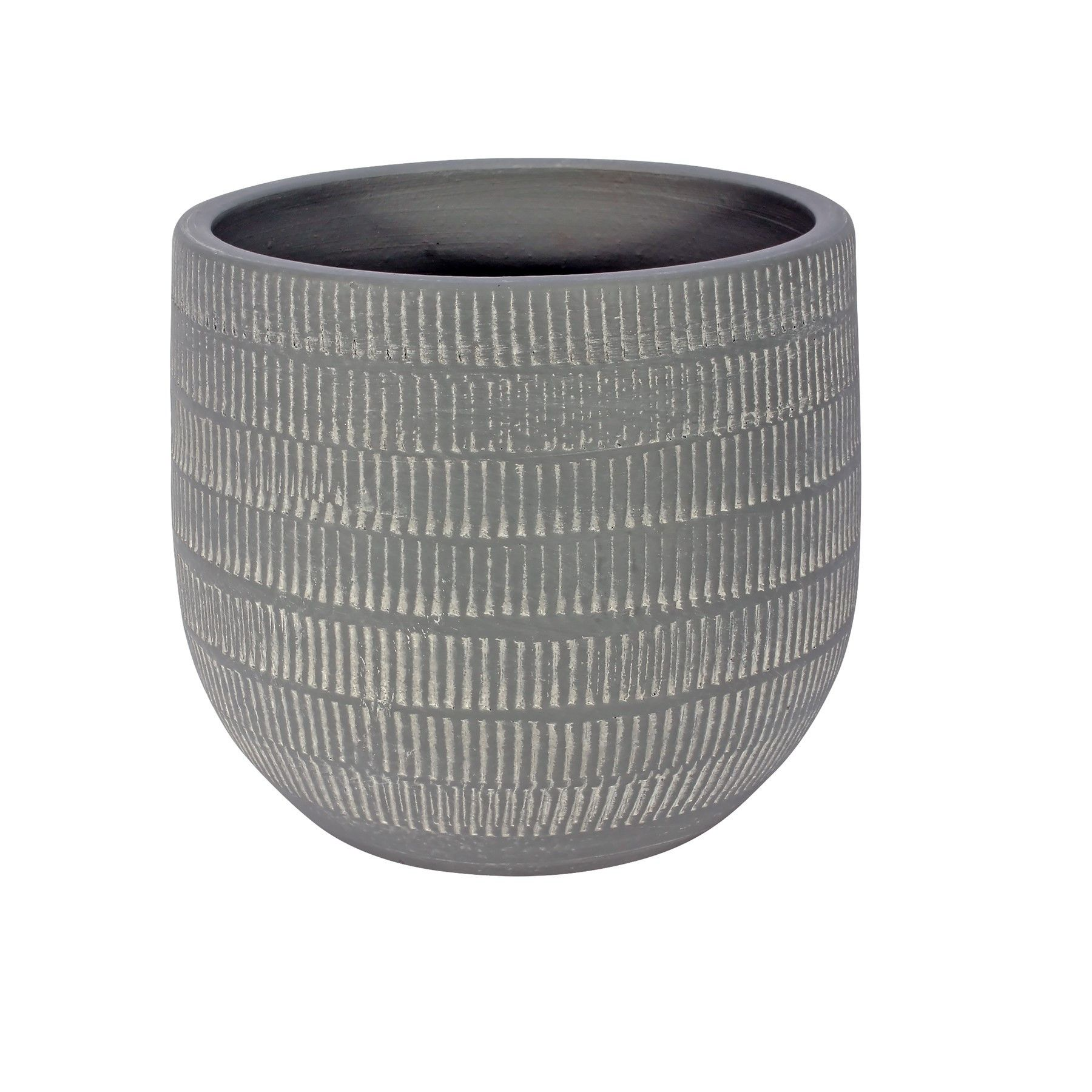 Amalfi Pot Light Grey (16cm x 14cm)