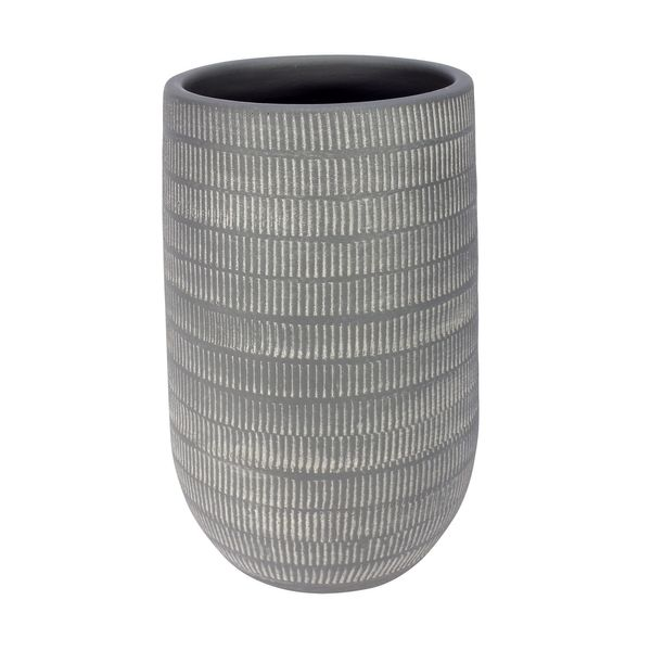 Amalfi Pot Light Grey (16cm x 25cm)