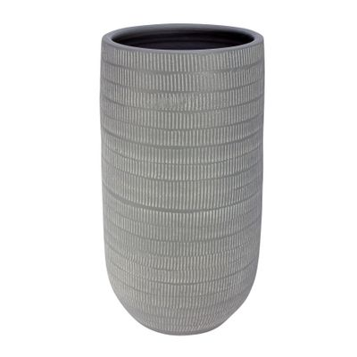 Amalfi Pot Light Grey  (19cm x 35cm)