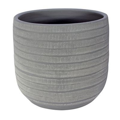Amalfi Pot Light Grey (29cm x 26cm)