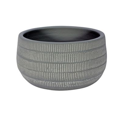 Amalfi Pot Light Grey (20cm x 10cm)