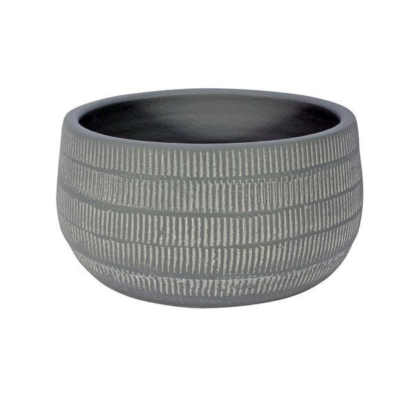 Amalfi Pot Light Grey (20cm x 10cm)