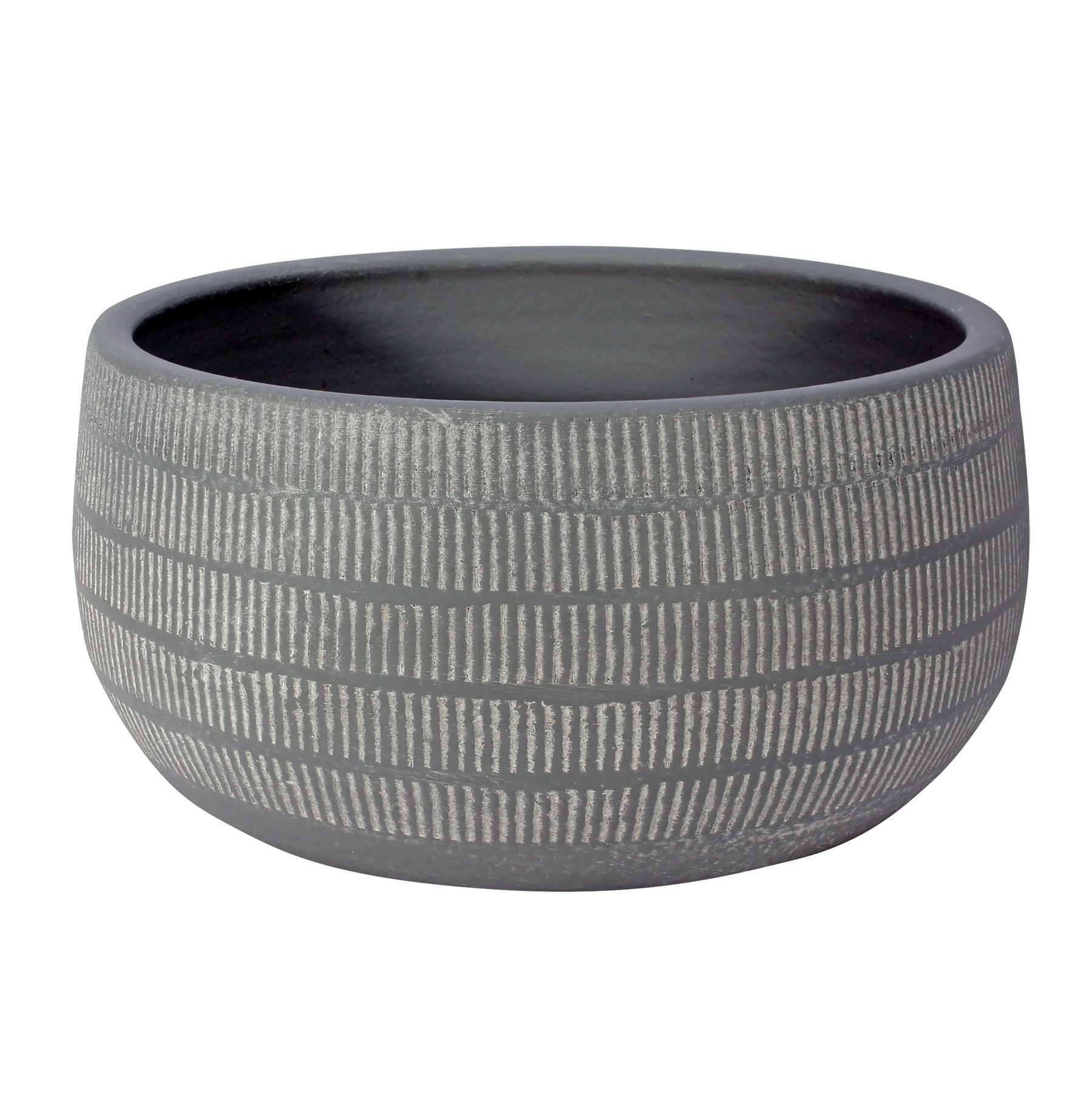 Amalfi Pot Light Grey (23cm x 11cm)