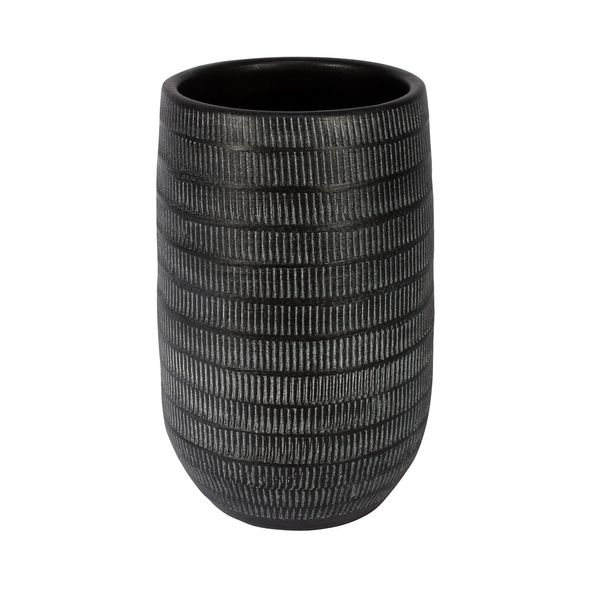 Amalfi Pot Black (16cm x 25cm)