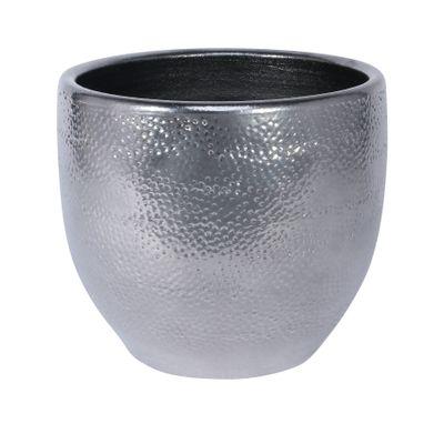Florence Pot Silver (20cm x 18cm)
