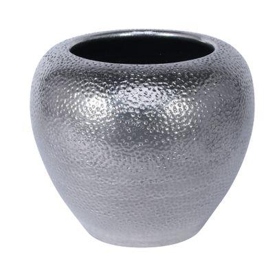 Florence Bowl Planter Silver (20cm x 18cm)