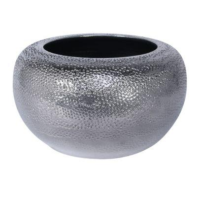 Florence Bowl Planter Silver (26cm x15cm)